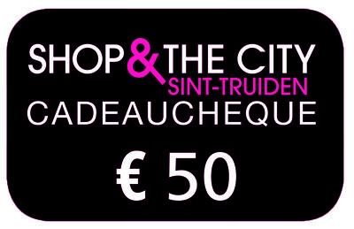 Cadeaucheque 50 EUR